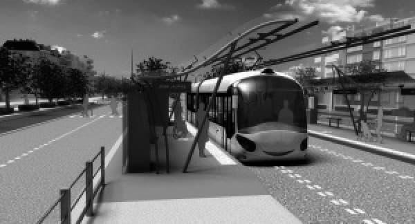 Amiens va tester un bus électrique à recharge rapide