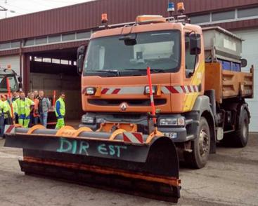 Sécurité routière : La Moselle prête à affronter la neige et le verglas