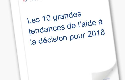 Les 10 grandes tendances de l'aide à la décision pour 2016 – Tableau Software