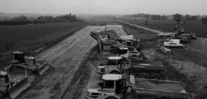 RN 164 en travaux