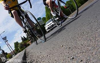 Haute-Loire : Inspection de l'état des chaussées sur les routes du Tour de France